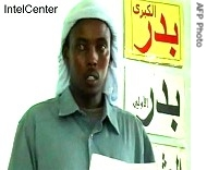 This undated handout image provided on May 1, 2008 by IntelCenter shows a video still image of Adan Hashi Ayrow
